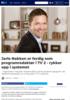 Jarle Nakken er ferdig som programredaktør i TV 2 - rykker opp i systemet