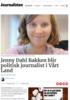 Jenny Dahl Bakken blir politisk journalist i Vårt Land
