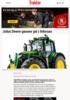 John Deere gasser på i februar