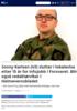 Jonny Karlsen (43) slutter i lokalavisa etter 15 år. Går til infojobb i Forsvaret og blir redaktør for Heimevernsbladet