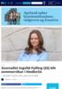 Journalist Ingvild Fylling (22) blir sommervikar i Medier24
