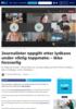 Journalister oppgitt etter lydkaos under viktig toppmøte: - Ikke forsvarlig