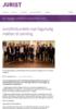 Juristforbundets nye fagutvalg møttes til samling