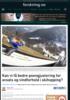 Kan vi få bedre poengjustering for avsats og vindforhold i skihopping?