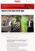 Kåringen av Årets Traktor 2021 blir digital