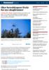 Øker beredskapen i frykt for nye skogbranner