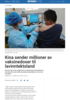 Kina sender millioner av vaksinedoser til lavinntektsland