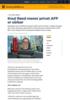 Knut Røed mener privat AFP er sårbar