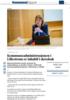 Kommuneadministrasjonen i Lillestrøm er inhabil i skredsak