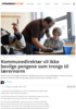 Kommunedirektør vil ikke bevilge pengene som trengs til lærernorm