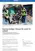 Korona-ledige i Kenya får cash for arbeid