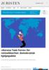 «Korona Task Force» for rettssikkerhet: demokratisk hjelpepakke