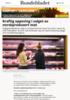 Kraftig oppsving i salget av norskprodusert mat