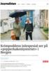 Krimpoddens julespesial ser på «pepperkake-mysteriet» i Bergen