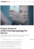 Kripos lanserer undervisningsopplegg for lærere