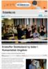 Kristoffer Stokkeland ny leder i Humanistisk Ungdom