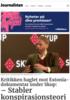 Kritikken haglet mot Estonia-dokumentar under Skup: - Stabler konspirasjons-teorier på hverandre