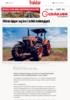 Kubota kjøper seg inn i indisk traktorgigant