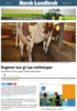 Kugener kan gi nye melketyper
