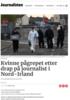 Kvinne pågrepet etter drap på journalist i Nord-Irland