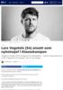 Lars Vegstein (34) ansatt som nyhetssjef i Klassekampen