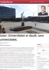 Leiar: Universitetet er daudt. Leve universitetet.