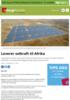 Leverer solkraft til Afrika