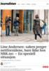 Line Andersen-saken preger nettforsidene, bare ikke hos NRK.no: - En spesiell situasjon