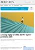 Lønn og faglig bredde: Derfor bytter juristene jobb