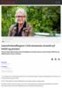 Lønnsforhandlingene i Oslo kommune strandet på heltid og pensjon