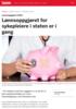 Lønnsoppgjøret 2019: Lønnsoppgjøret for sykepleiere i staten er i gang