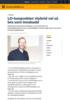LO-tungvekter: Hybrid vel så bra som innskudd