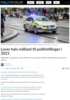 Lover halv milliard til politistillinger i 2021