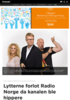 Lytterne forlot Radio Norge da kanalen ble hippere