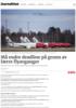 Må endre deadline på grunn av færre flyavganger