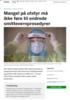 Mangel på utstyr må ikke føre til endrede smittevernprosedyrer