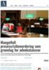 Mangelfull prosessrisikovurdering som grunnlag for advokatansvar