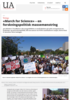 March for Science - en forskningspolitisk massemønstring