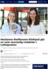 Marianne Steffensen Kielland går av som ansvarlig redaktør i Lofotposten