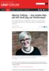 Marina Tofting: - Jeg sluttet ikke på UiO fordi jeg var misfornøyd