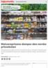 Matvareprisene demper den norske prisveksten