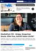 MediaPuls 133 - Snipp, Snapchat, Snute. Eller hva, Astrid Valen-Utvik?