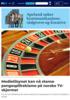 Medietilsynet kan nå stanse pengespillreklame på norske TV-skjermer