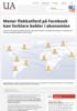 Mener flokkatferd på Facebook kan forklare bobler i økonomien