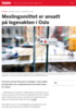 Meslingsmittet er ansatt på legevakten i Oslo