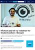 Michael (23) blir ny redaktør for Studentradioen i Bergen