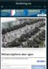 Militærutgiftene øker igjen