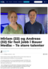 Miriam (22) og Andreas (32) får fast jobb i Bauer Media: - To store talenter