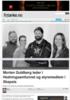 Morten Guldberg leder i Hedningsamfunnet og styremedlem i Skepsis