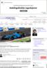Motorsport som miljølaboratorium - Samferdsel